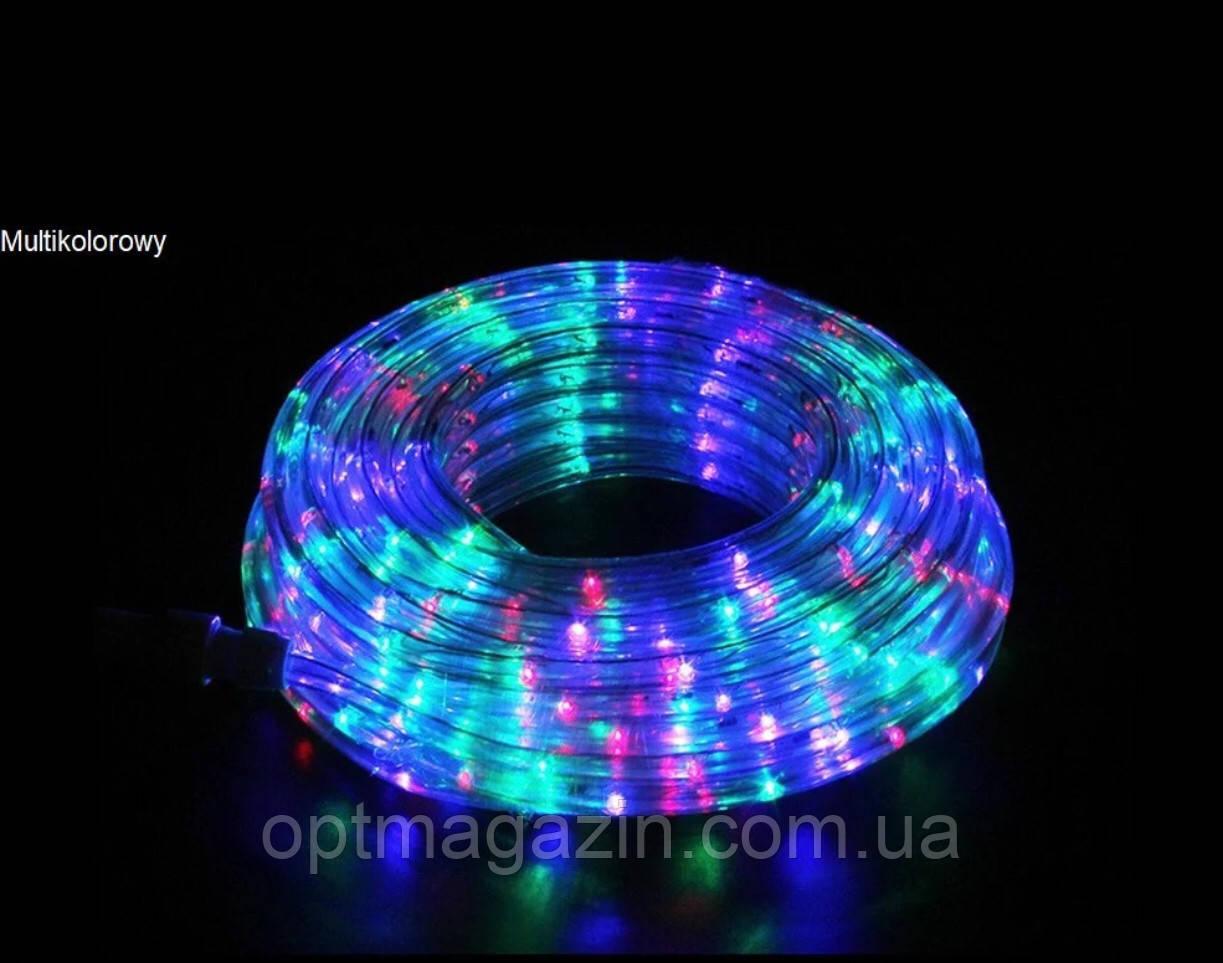 Гирлянда Шланг Дюралайт белый 20м RGB, светодиодный шланг