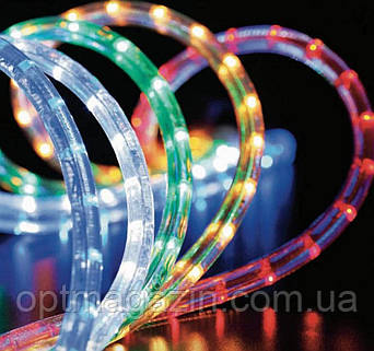 Гирлянда Шланг Дюралайт белый 20м RGB, светодиодный шланг, фото 2