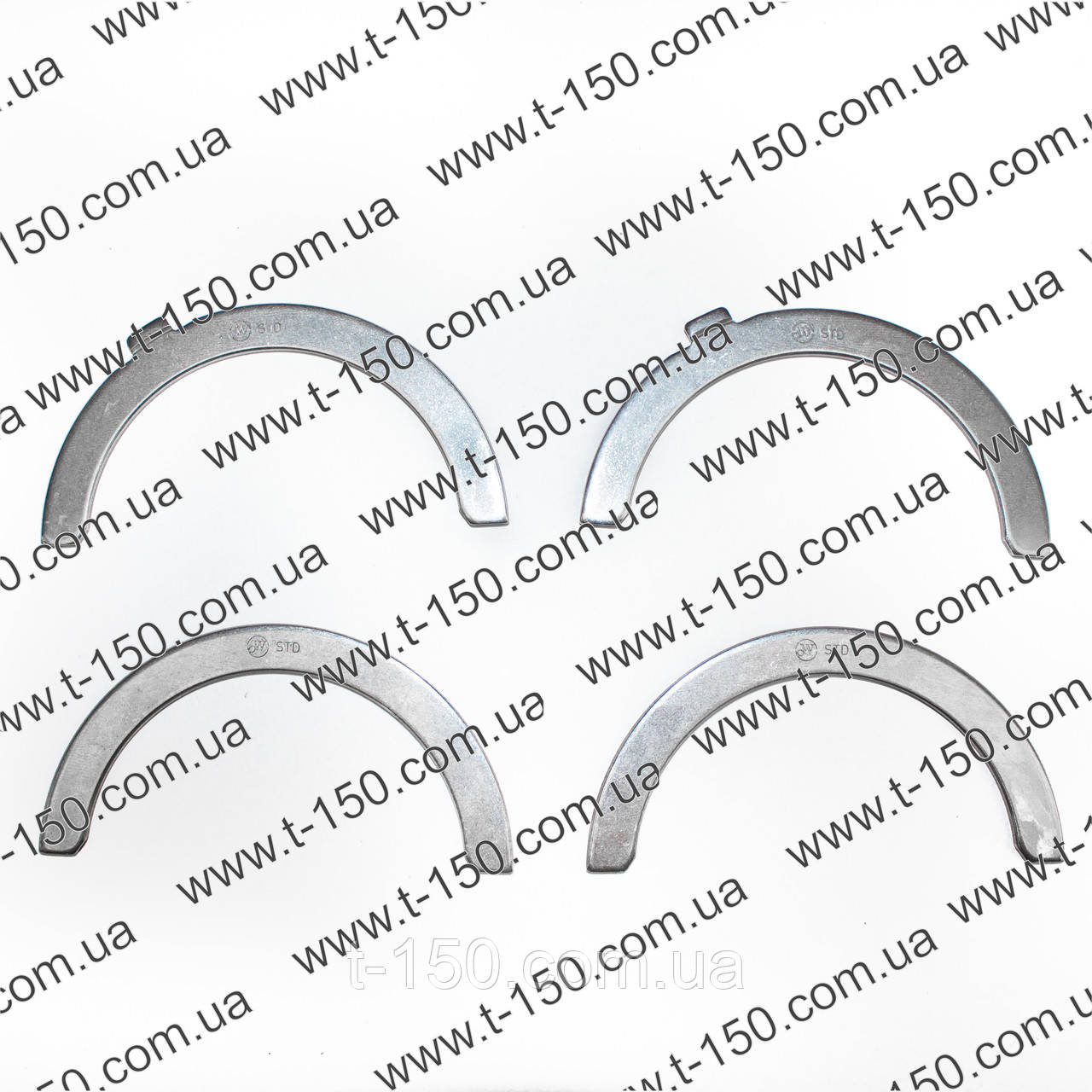 Полукольцо подшипника упорного коленвала ГАЗ-4301 (комплект 4 шт.)542.1005183
