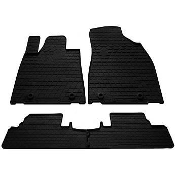 Килимки в салон гумові для Lexus RX 2009-2015 Stingray (4шт)