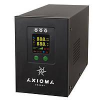 Гибридный инвертор (ИБП/стабилизатор) 800ВА/500Вт 14В с MPPT контроллером 20А 12В Axioma AXEN.IS-800