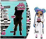 Кукла ЛОЛ ОМГ Диско Скейтер 3 серия Леди Релакс L.O.L. Surprise! O.M.G Chillax Fashion 20 Surprises, фото 1