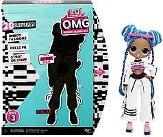 Лялька ЛОЛ ОМГ Диско Скейтер 3 серія Леді Релакс L. O. L. Surprise! O. M. G Chillax Fashion 20 Surprises