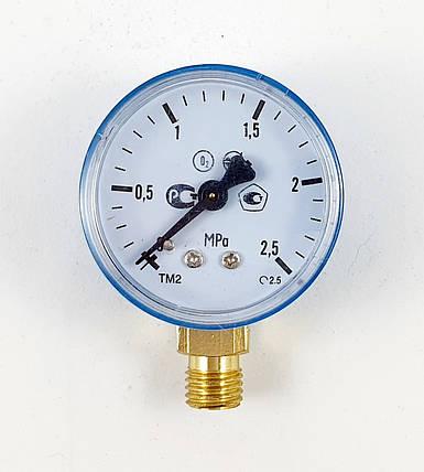 Манометр кислородный 2,5 МПа МП-50, фото 2