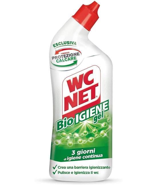 Гель для чистки унитаза WC NET Bio Igiene 800мл