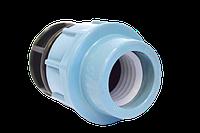 Заглушка для полиэтиленовой трубы STR 32 мм ПЭ ПНД, фото 1