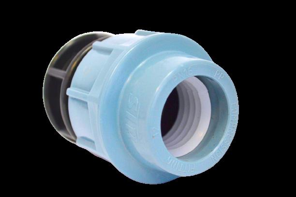 Заглушка для поліетиленової труби STR 50 мм ПЕ ПНД упаковка 4 шт