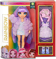 Кукла Рейнбоу Хай Вайолет Виллоу Rainbow High Violet Willow Purple Fashion Doll