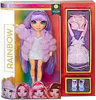 Лялька Мосту Хай Вайолет Віллоу Rainbow High Violet Willow Purple Fashion Doll