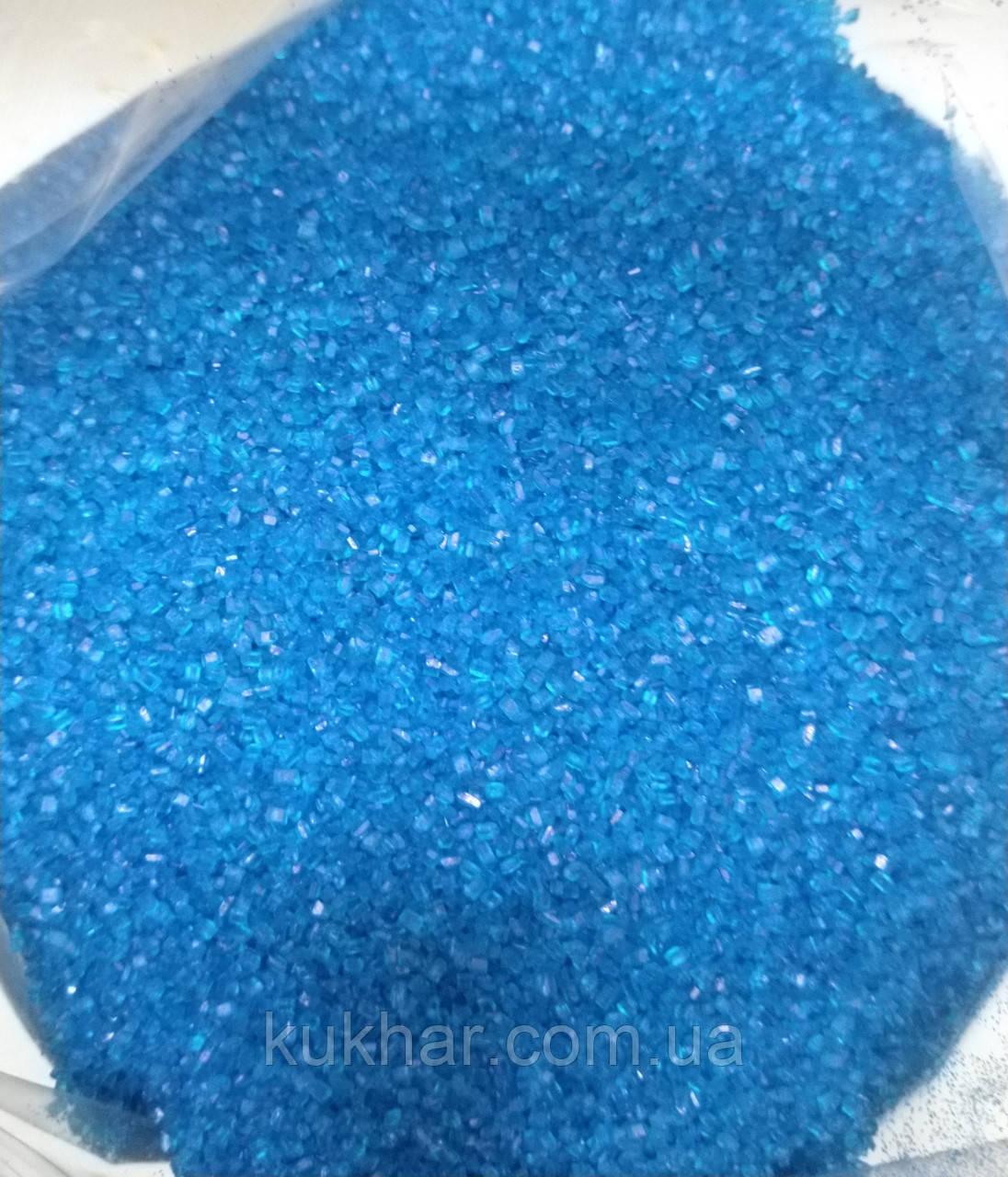Цукор кольоровий Синій Добрик 1кг