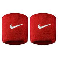 Напульсники Nike Swoosh красные