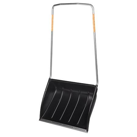 Лопата для прибирання снігу Fiskars 143021, скрепер-волокуша