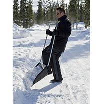 Лопата для прибирання снігу Fiskars 143021, скрепер-волокуша, фото 2