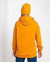 Худі UNISEX (для жінок і чоловіків). Помаранчевий колір. Розмір., фото 2