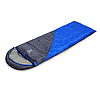 Спальний мішок ковдра з капюшоном +10 до -10 SY-D02 синій, фото 2