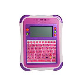 Детский обучающий планшет Joy Toy, 32 функции Розовый