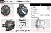 Генератор Jeep Grand Cherokee WK 3.0CRD REMY RAA11280