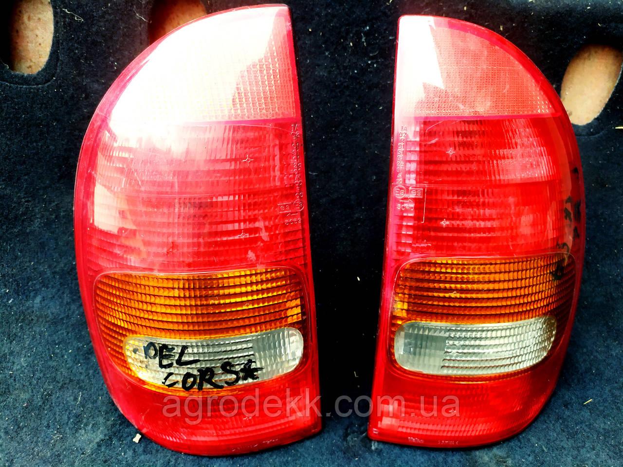 Фара задняя opel corsa b 1993-2002