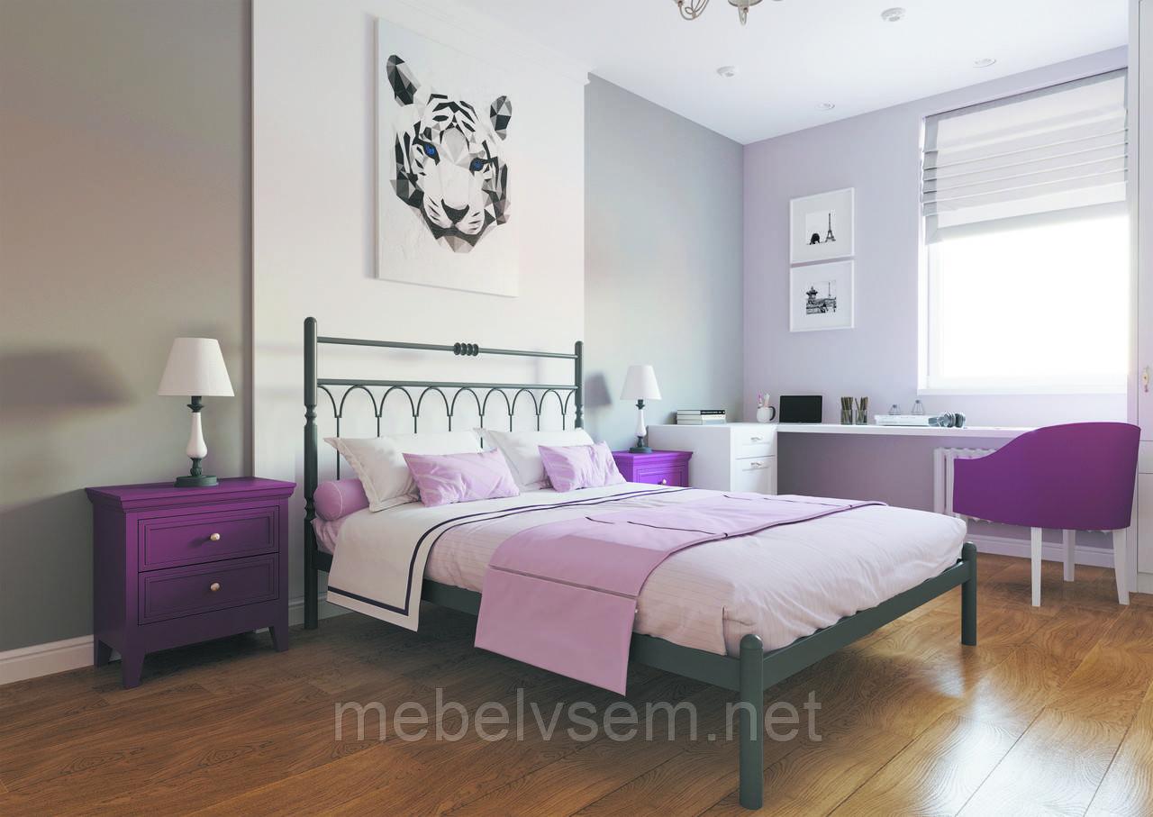 Ліжко Тіффані Металл-Дизайн