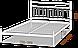 Ліжко Тіффані Металл-Дизайн, фото 5