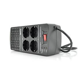 Стабілізатор напруги релейний Europower EPX-1204 1200VA 600W, input: 184 ~ 276V, output: 220V ± 10%, 4 SHUKO,