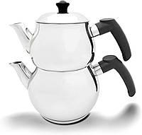 Двойной чайник турецкий Imex Mini (чайник 1,1 л + заварник 0,6 л)
