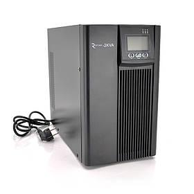 ДБЖ з правильною синусоїдою PT-2KL-LCD, 2000VA (1800Вт), 72В, Струм макс. 5A, під зовнішній АКБ (405*190*326)