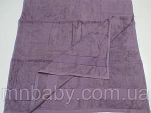 Полотенце махровое 70*140 см фиолетовое