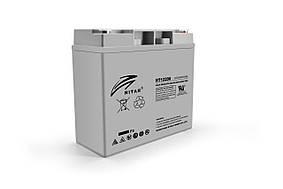 Акумуляторна батарея AGM RITAR RT12200, Gray Case, 12V 20.0Ah ( 181 х 77 х 167 ) Q4