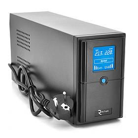 Источник бесперебойного питания с аппроксимированной синусоидой Ritar E-RTM1000 ELF-D 600Вт для проектора