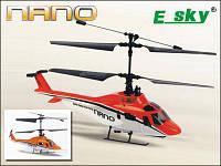 Модель вертолета на радиоуправлении. NANO 2.4 GHz RTF Version. E-SKY 002843