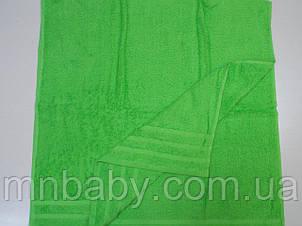 Полотенце махровое 70*140 см зеленое яблоко