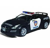 Машинка автомодель Nissan GT-R Моделька Ниссан Kinsmart KT5340WP
