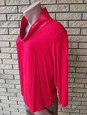 Блуза женская больших размеров, коттоновая стрейчевая NATALI, Турция, фото 3