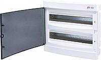 Щит встраиваемый распределительный ECМ 2x18PT (36мод.прозр.дверь) IP40, ETI, 1101083