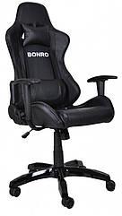 Игровое кресло Bonro 2018 черное 40800036