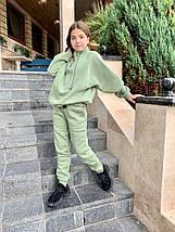 "Детский теплый спортивный костюм для девочки ""Kitty"" с карманами, фото 2"