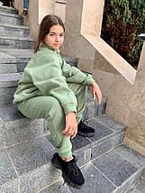 "Детский теплый спортивный костюм для девочки ""Kitty"" с карманами, фото 3"