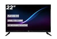 "Новинка! Телевізор JBA 22"" FullHD/DVB-T2/USB, фото 1"