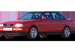 Дефлектор на капот (Мухобойки) для Audi (Ауди) 80 B4 1991-1995