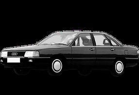 Дефлектор на капот (Мухобойки) для Audi (Ауди) 100/200 (C3) 1982-1991
