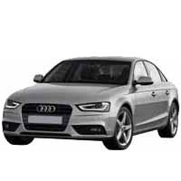 Дефлектор на капот (Мухобойки) для Audi (Ауди) A4 B8 2008-2011