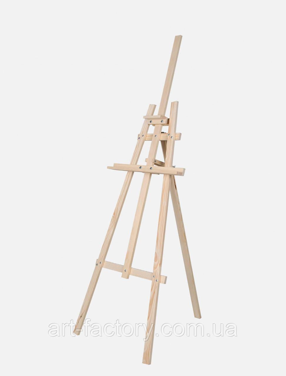 Мольберт детский, тренога 60 х 80 х 150 см деревянный