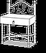 Тумба приліжкова Парма від Метал-Дизайн, фото 4