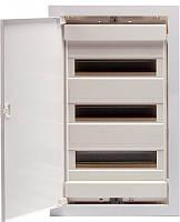 Щит металлопластиковый ECG42 PO (36+6мод., пластик.бел.дверь) IP40, ETI, 1101185