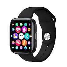 Смарт часы Smart Watch T99S, голосовой вызов, два браслета, black