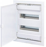 Щит металлопластиковый ECG28 (24+4мод., метал.бел.дверь) IP40, ETI, 1101026