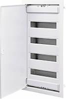 Щит металопластиковий ECG56 (48+8мод., метав.бел.двері) IP40, ETI, 1101028