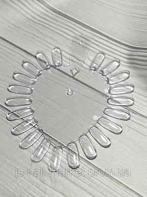 Палітра Серце - прозора