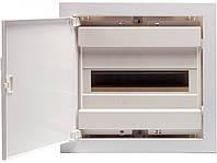 Щит металлопластиковый ECG14 PO (12+2мод., пластик.бел.дверь) IP40, ETI, 1101183